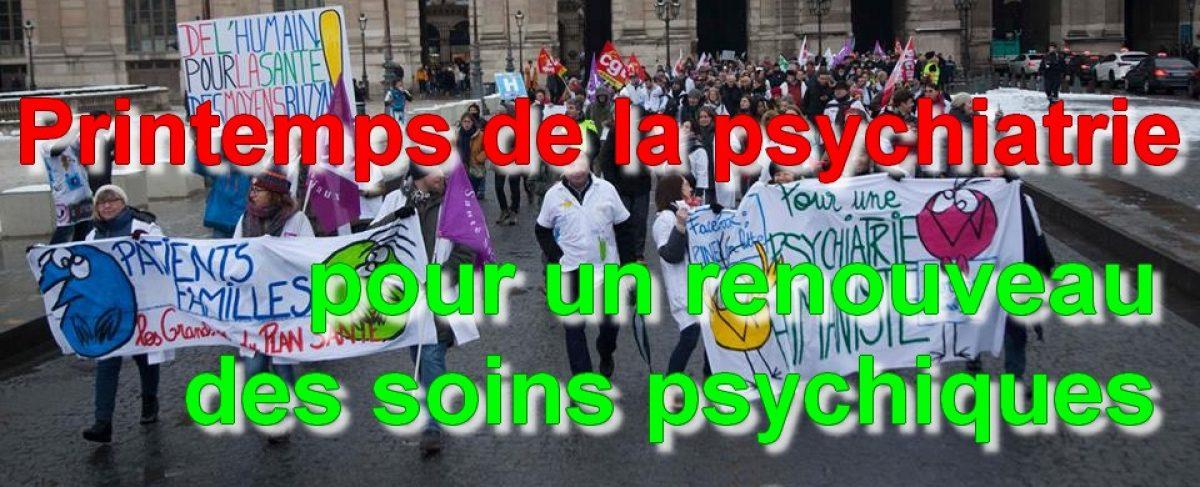 Printemps de la psychiatrie